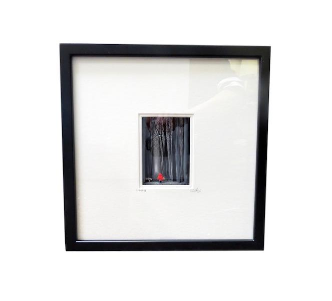 """C. Schukow,""""Little Red""""  Diorama 13x3x13h  CX004"""