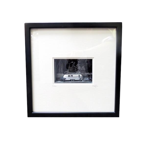 """C. Schukow, """"Visitors (Airstream)"""" Diorama, 13x3x13h  CX005"""
