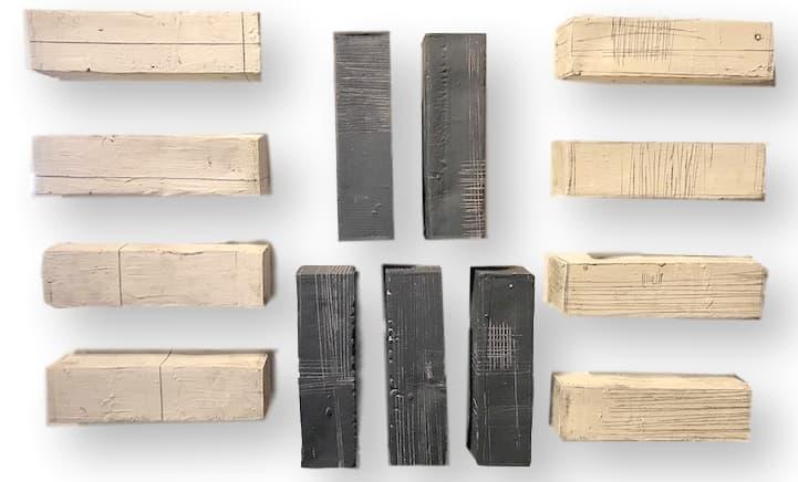 L Katz Ceramic Wall Block  9.5x2.5x2.5  LK003