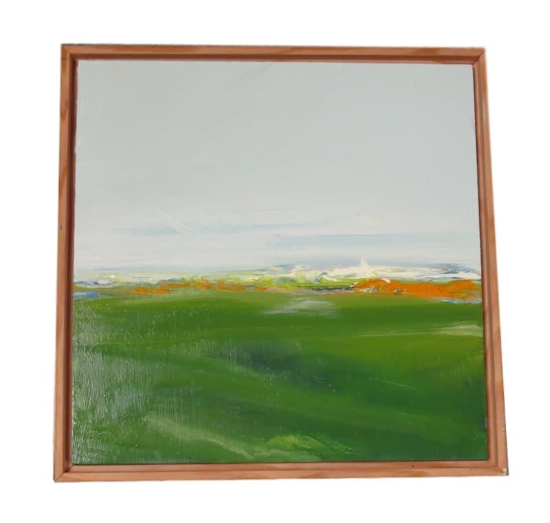 N. Crawford  Oil/Board 12x12  NC12X12