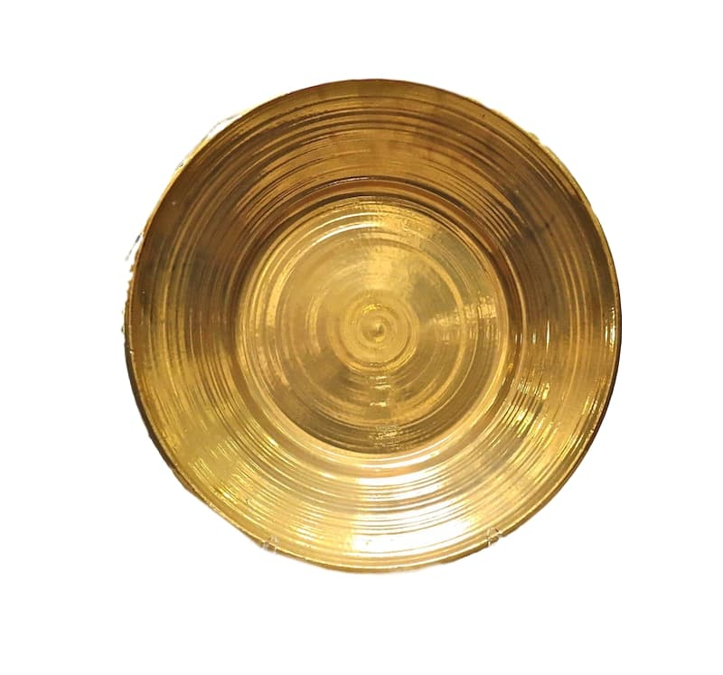 Ceramic Low Bowl, 24k Gold Luster  24dx4h  EU9660G