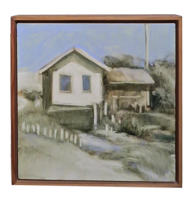 N. Crawford, House Study #1, Oil/Board  12x12
