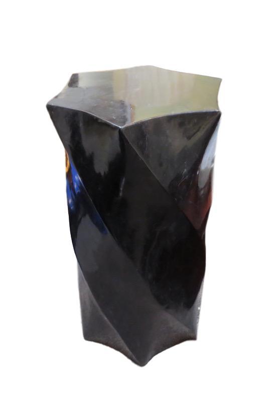 Paradigm Pedestal, Black Stone  20x17x42h MC7-57-7248-42  20x17x36h MC7-57-7248-36