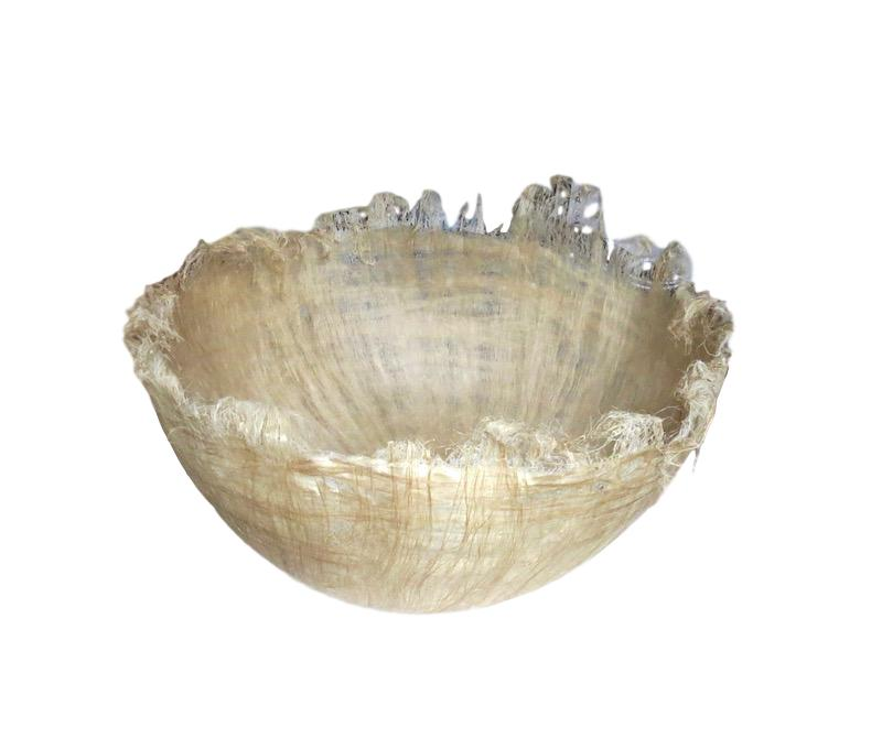 Flax Bowl Large   18-21dx8-10h  JB008