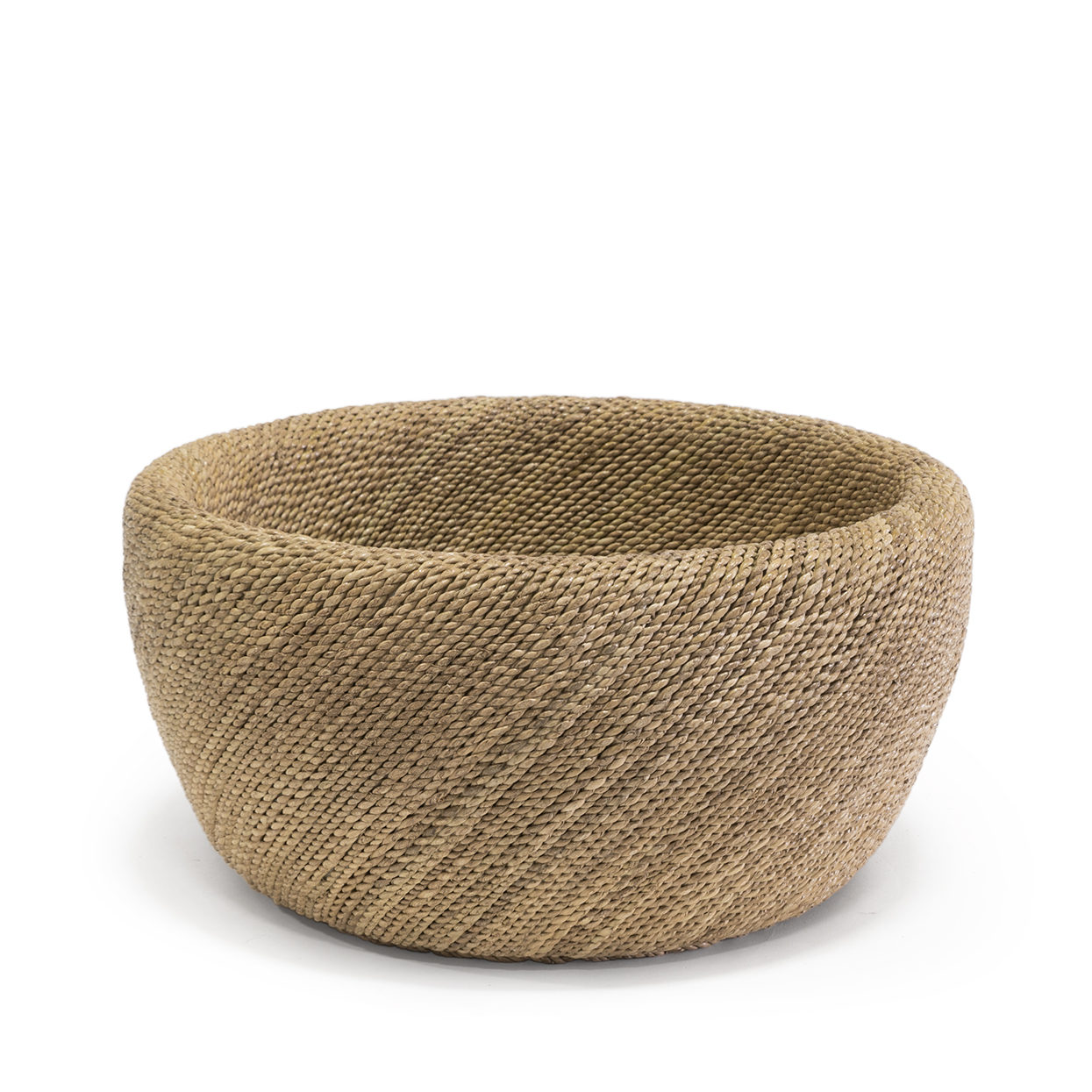 Woven Rope Bowl   18dx8h  P300601