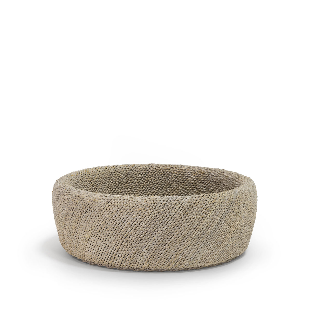 Small Woven Rope Bowl   13dx7h  P302805