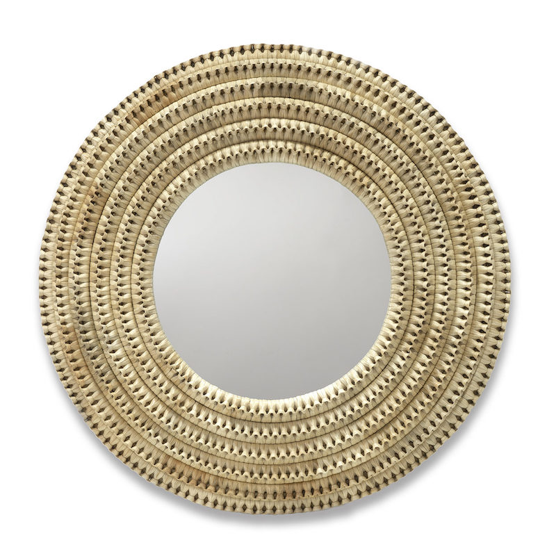 "Braided Mirror   48""dx5""  P106101"