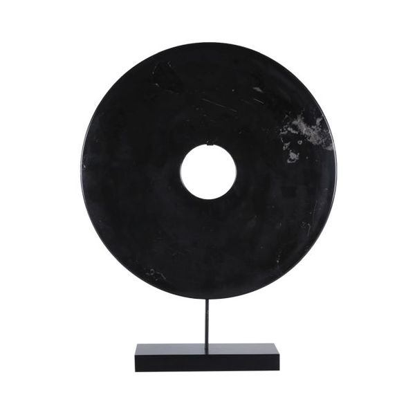 Stone Disc Black/Stand  Medium   16x4x20h   OP067  Large   24x6x30h  OP071