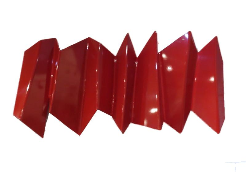 Lopomo, Folding, Red Polypropylene/Enamel   56x5x30  RLDOBLGW