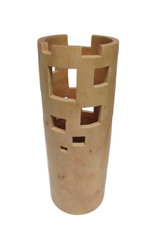 Tamarind City Vase   5dx14h  BUIICV