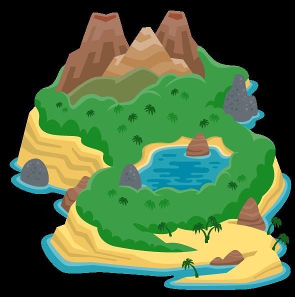 Island | Fuzzy Planet