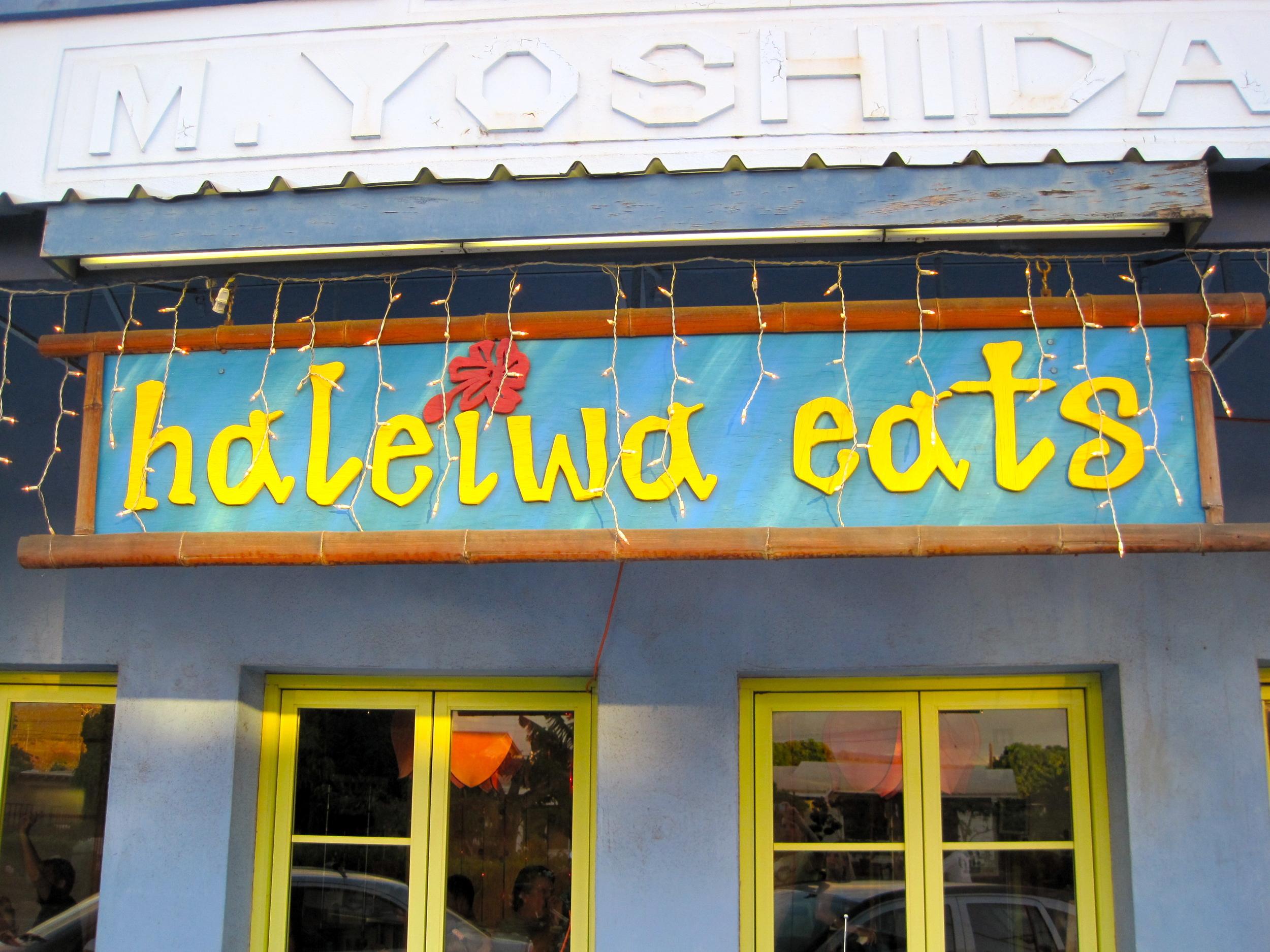 HALEIWA EATS, North Shore, Oahu