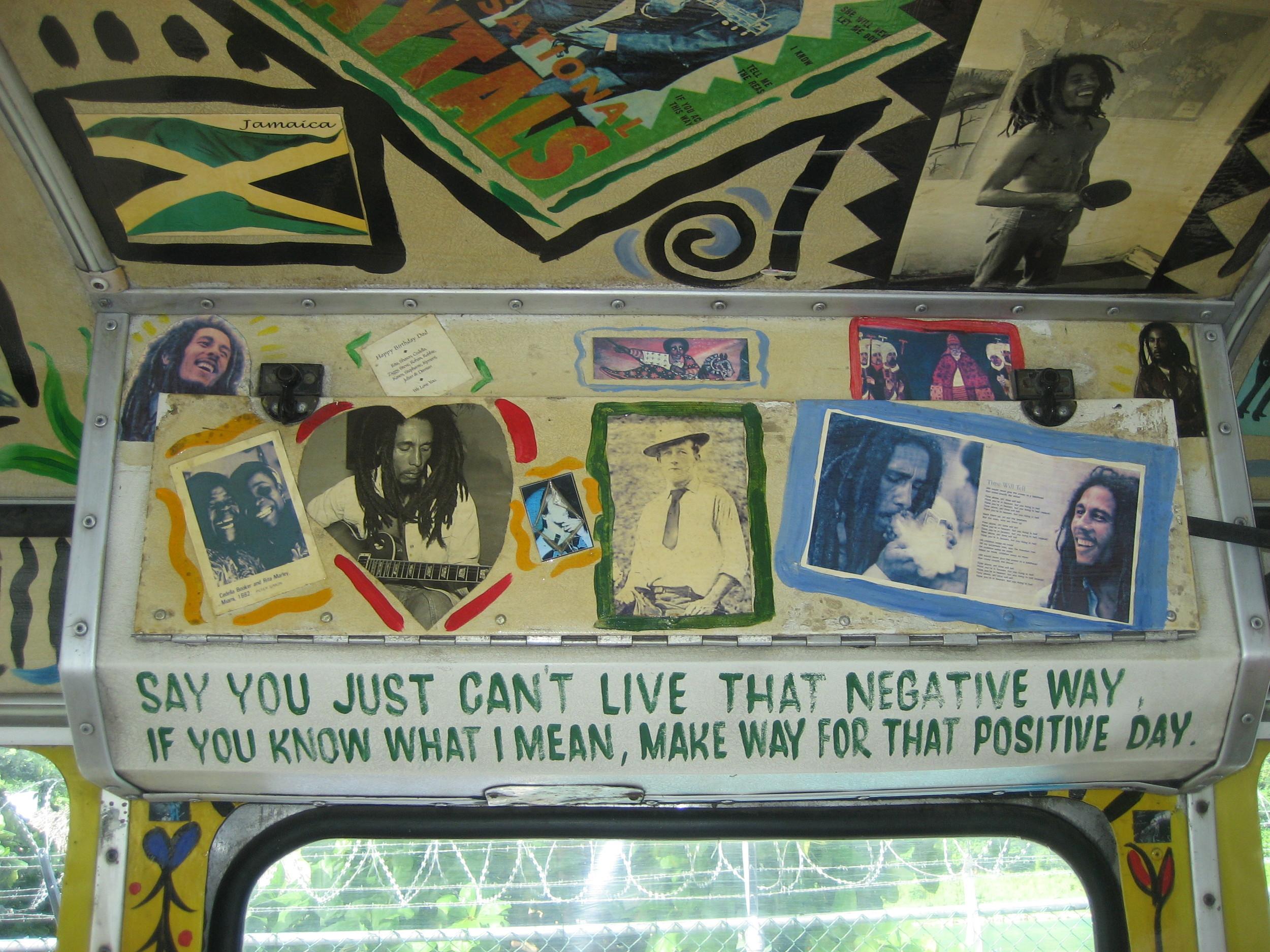 Mount Zion Tour Bus, Ocho Rios, Jamaica