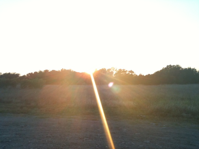 Pretty sunset :)