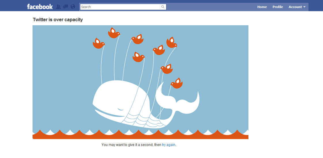 """Twitter launches """"Find your friends on Facebook"""" then Facebook blocks the app - LOL too funny #SillyValleyTechWars #socialmedia #FAIL"""