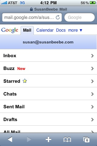 Google just released Buzz on my Business Gmail account - hmmm #Buzz