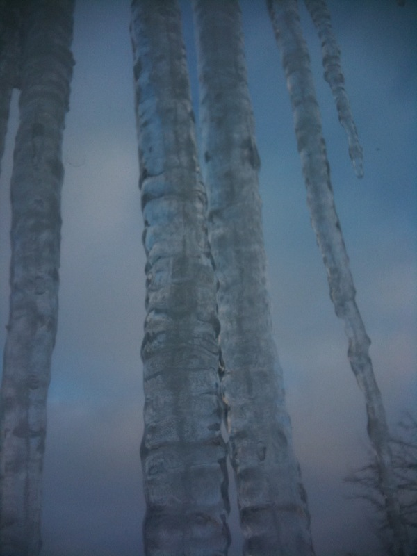 icicles!!!