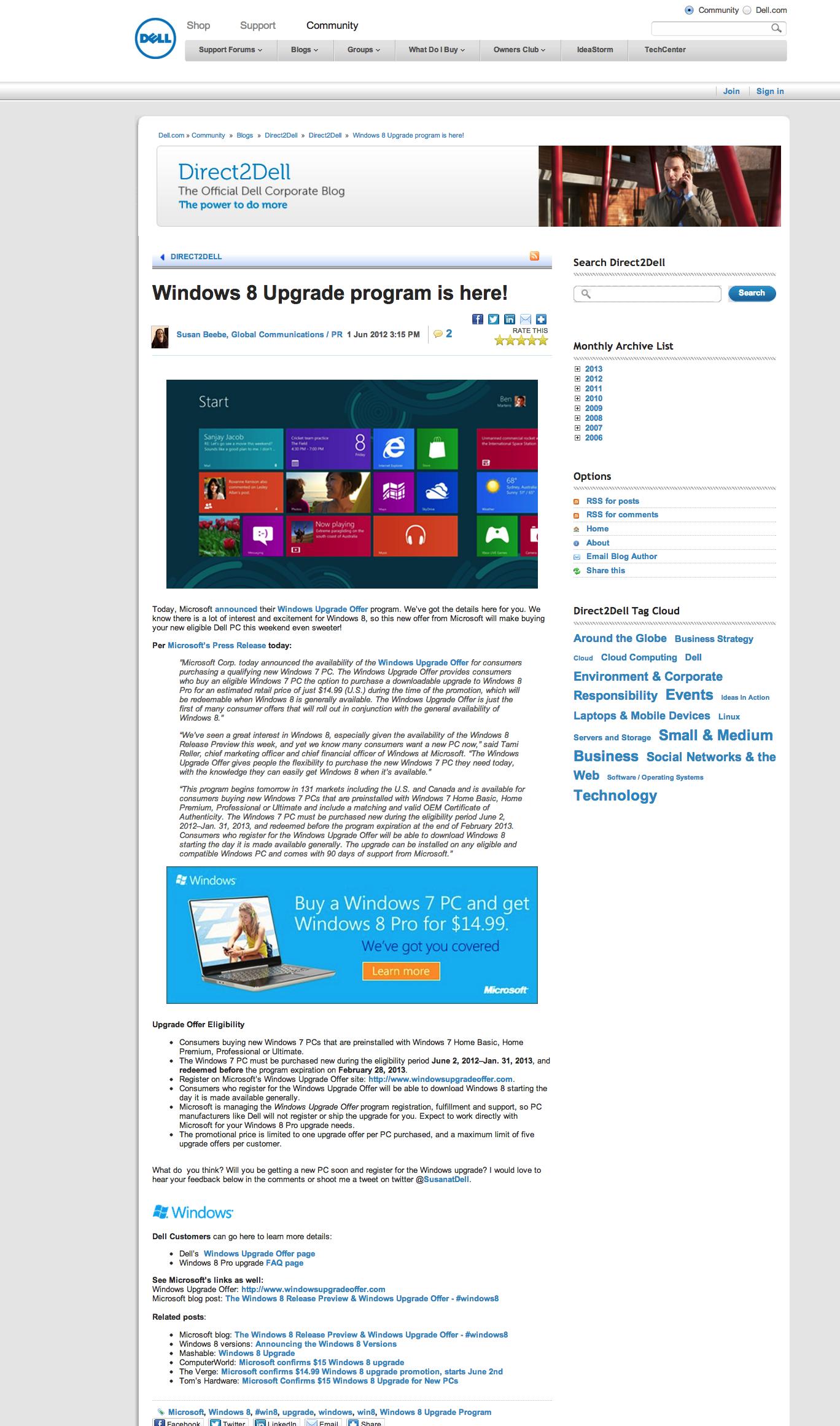 Windows 8 Upgrade program
