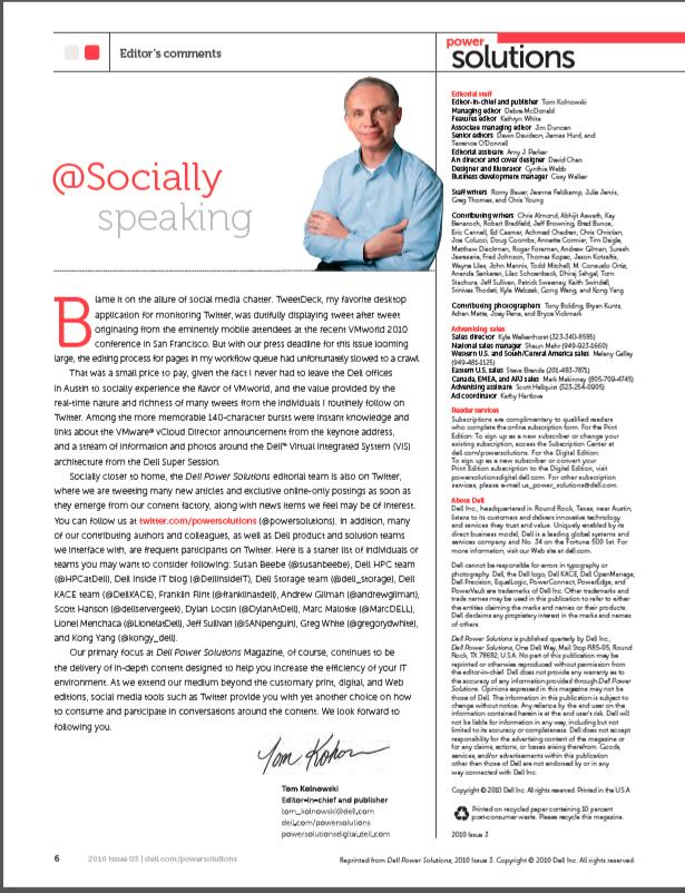 @Socially Speaking