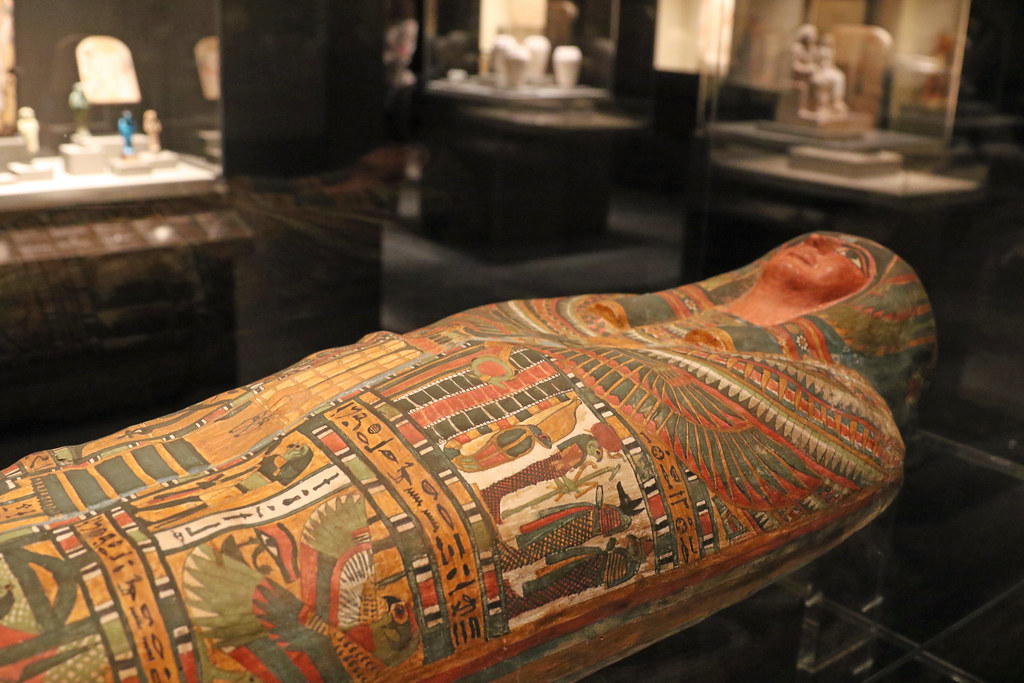 Ancient Egyptian Sarcophagus - The Houston Museum of Natural Science