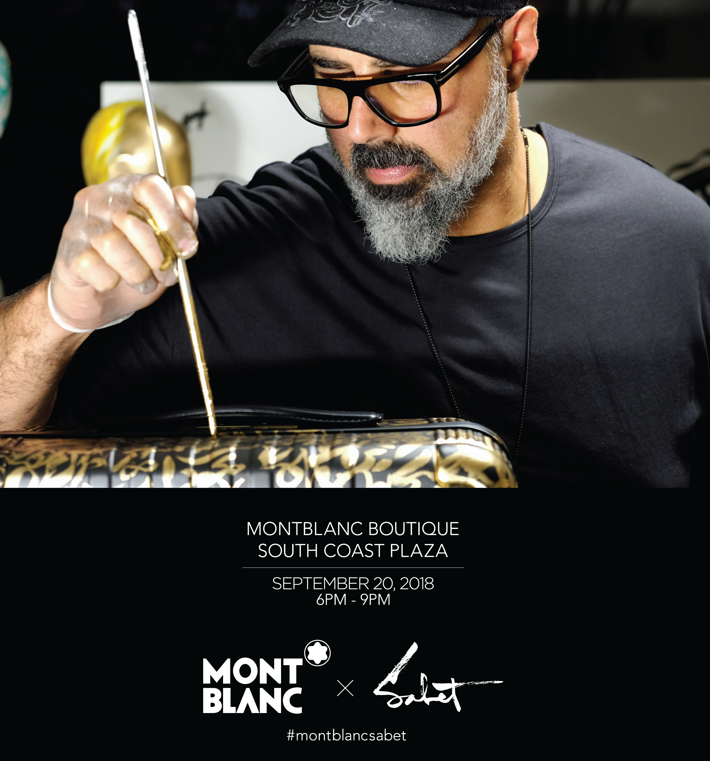Join Us at Montblanc Boutique: 9/20/2018 6 PM-9 PM