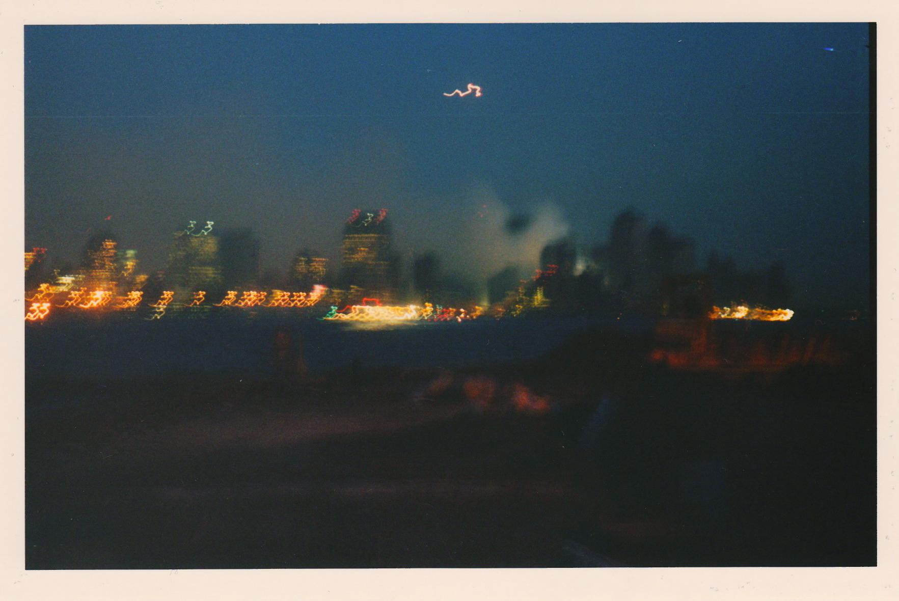View of the Manhatten skyline from Hoboken