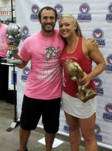 San Diego personal trainer, Brian Tabor, taking second place at Dallas strongman competition 2012.