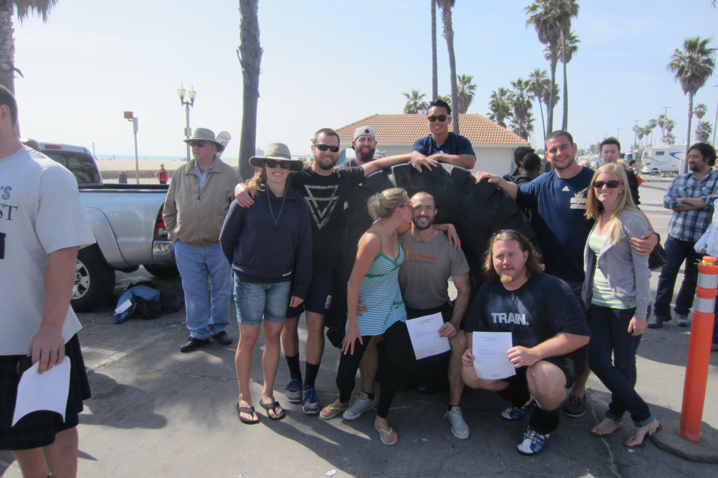 Strong Made Simple and our supporters at California's Strongest Man 2013,