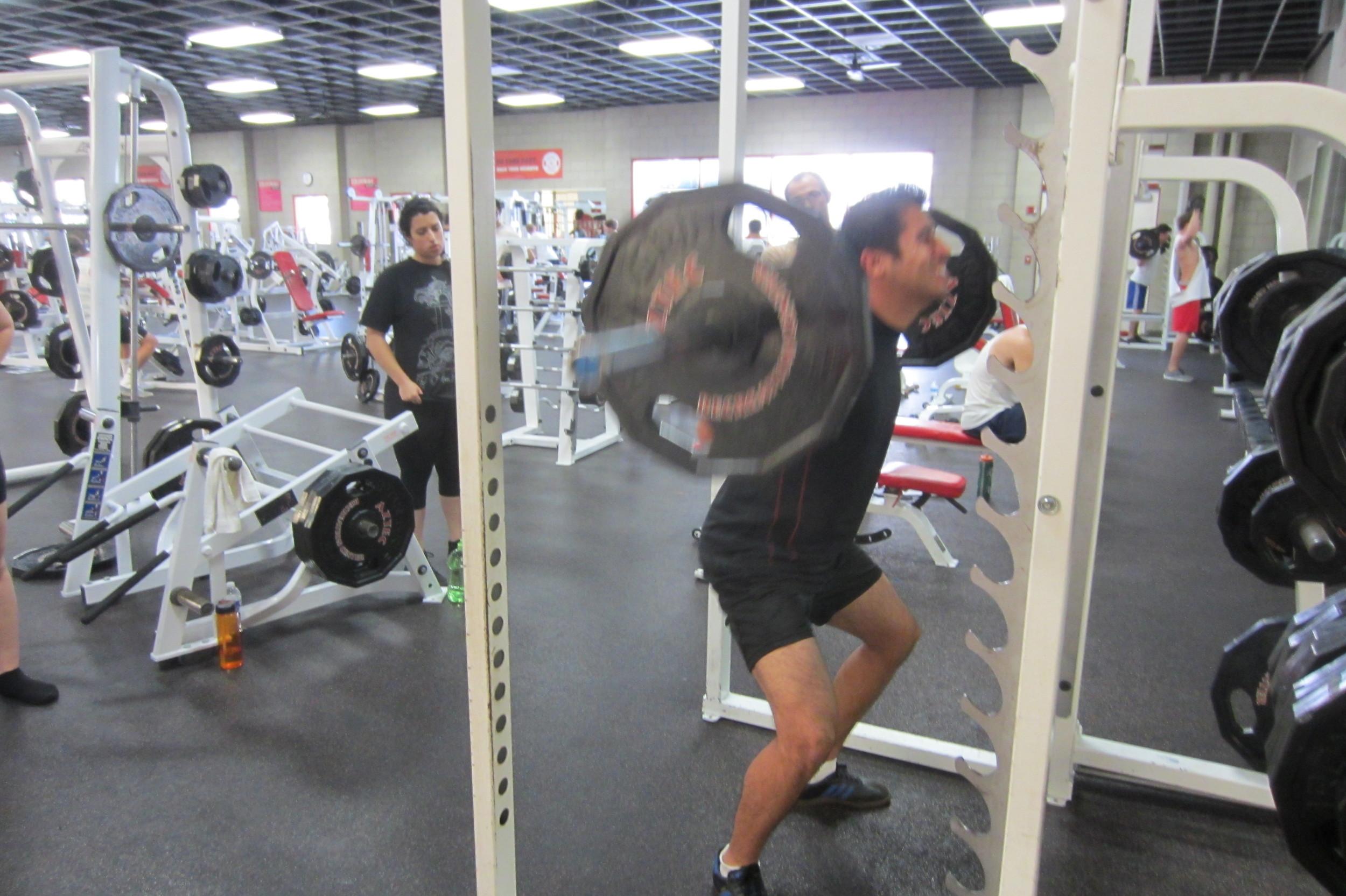 Loading the Squat