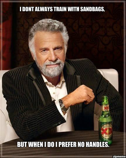 Most interesting man at the gym.