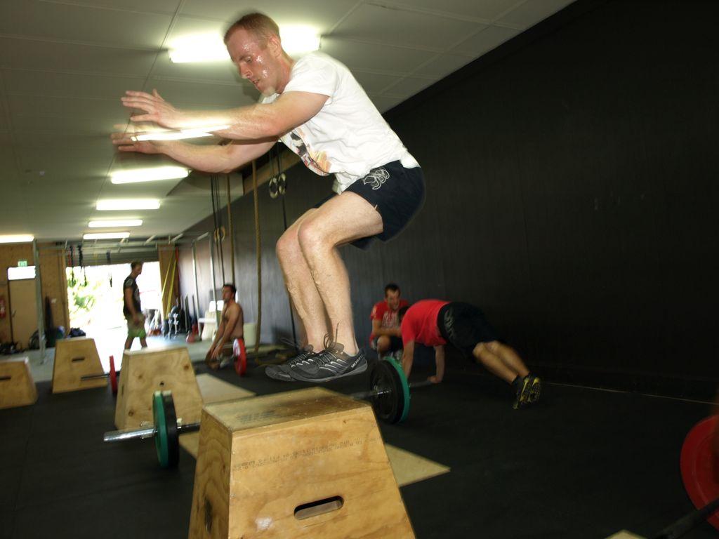 Box Jumps Photo Credit:  Ben Warren