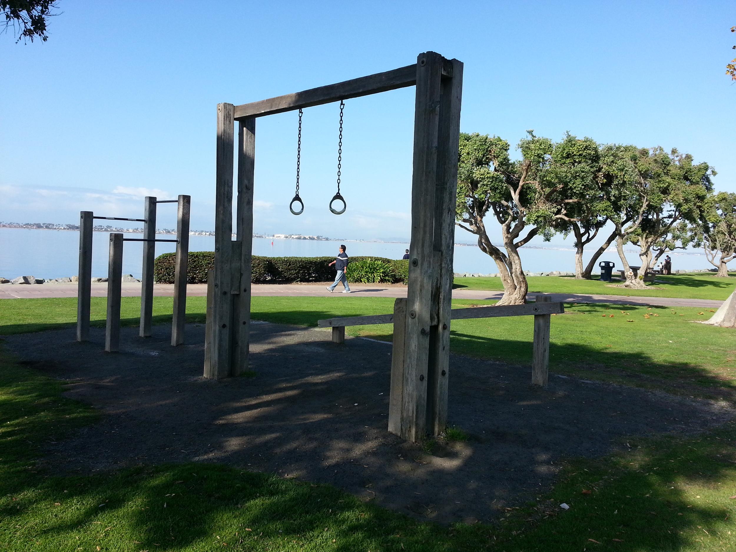 Gymnastic Rings in San Diego