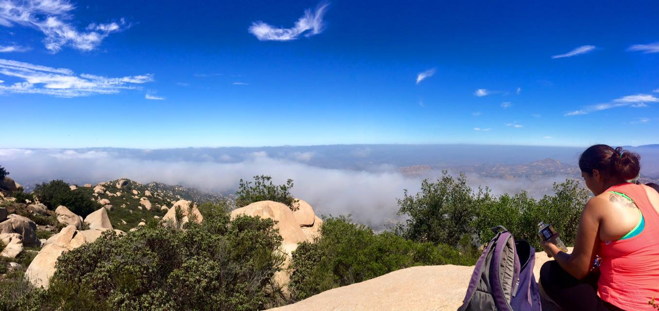 Mt Woodson Above the Clouds