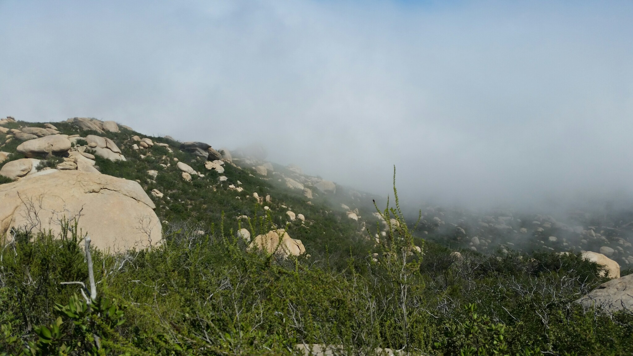 Mount Woodson Clouds