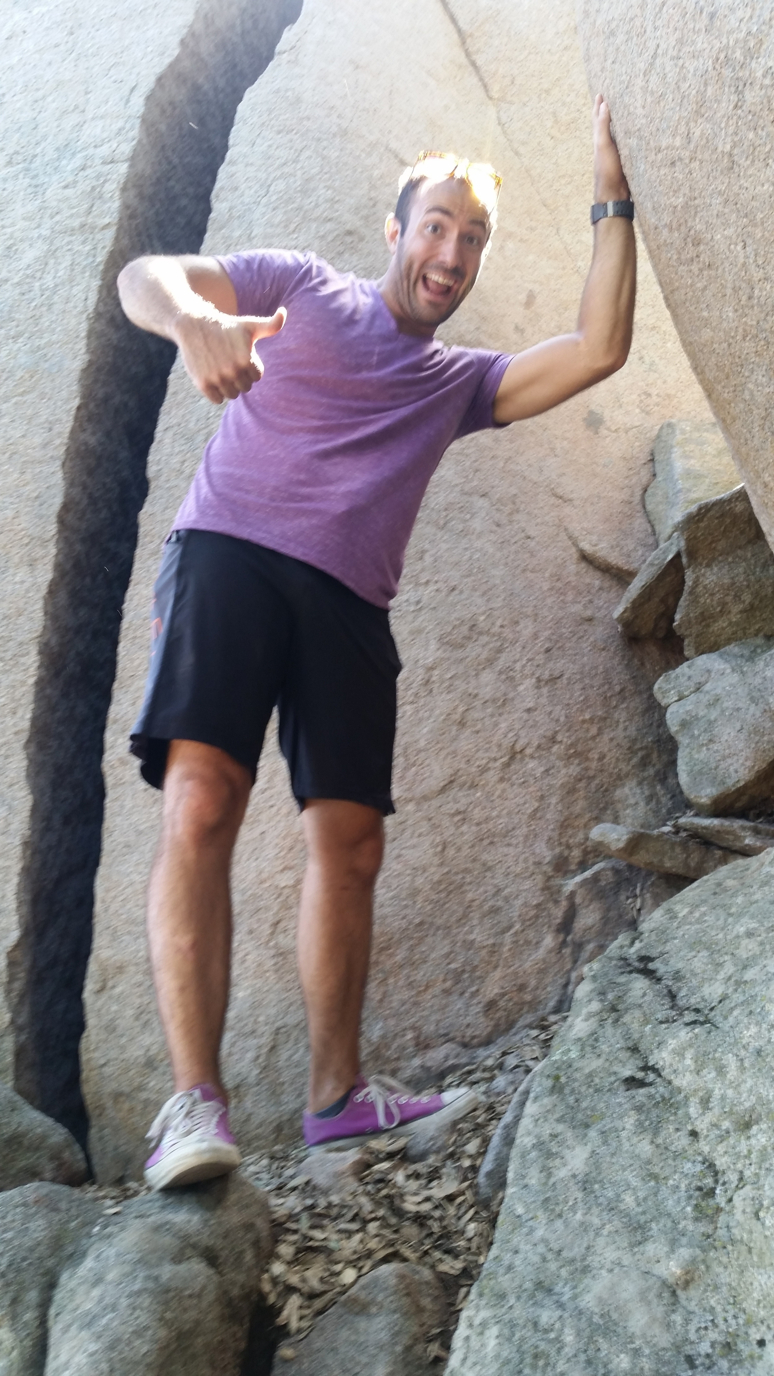 Personal Trainer Hiking Mount Woodson