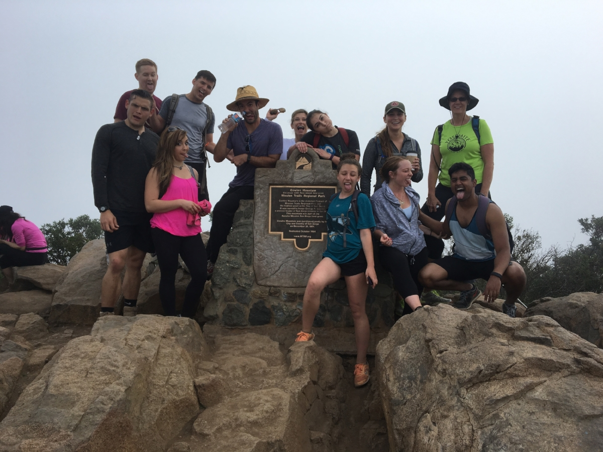Cowle's Mountain Summit Goof 03/19/2016