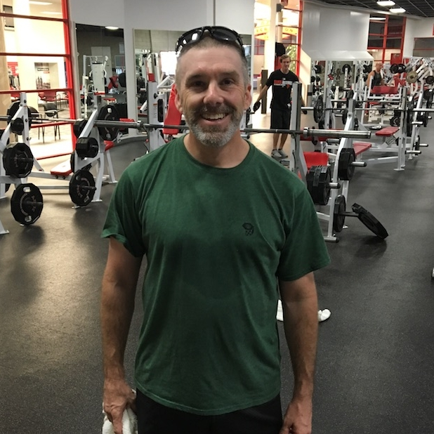 Tony is the master of heart shaped sweat spots.