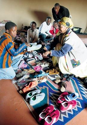 Mandela Shoe Distribution 200 pairs.jpg