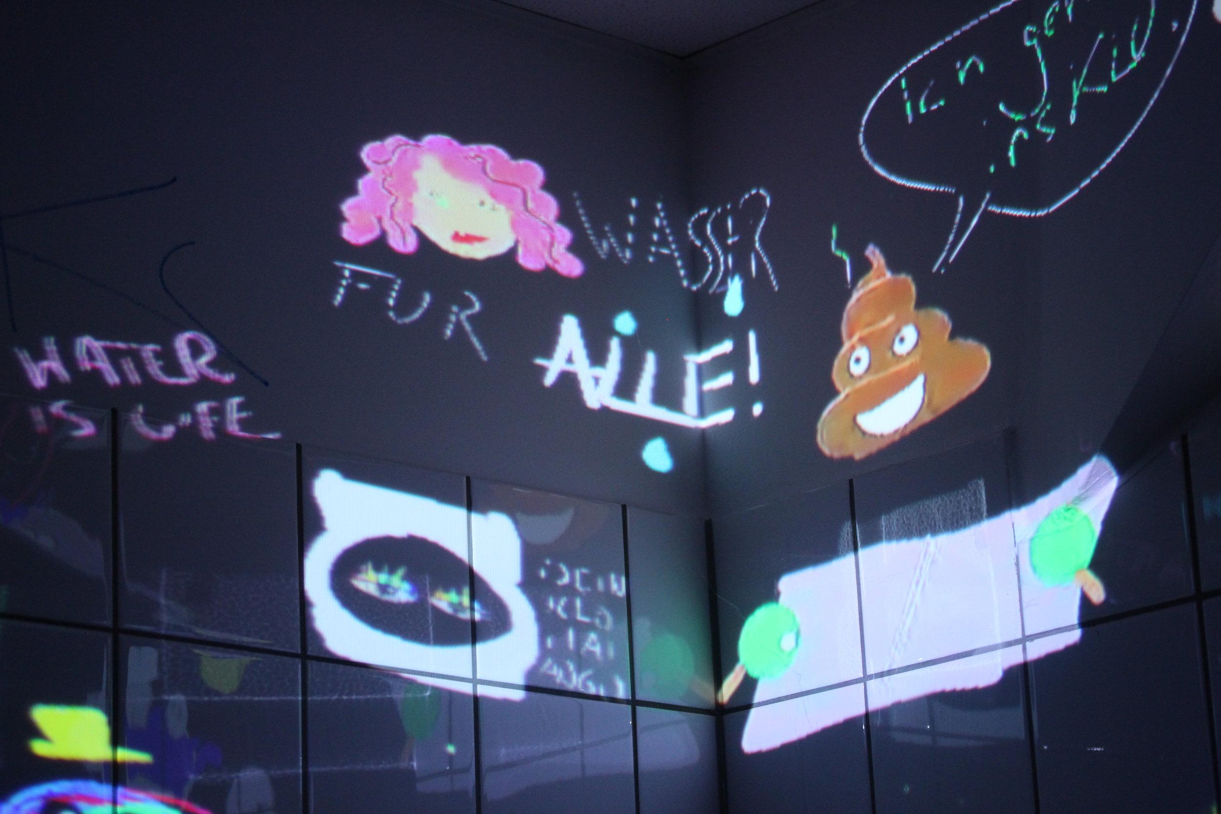 Tagtool Toilet Art - Millerntorgallery #8 2018