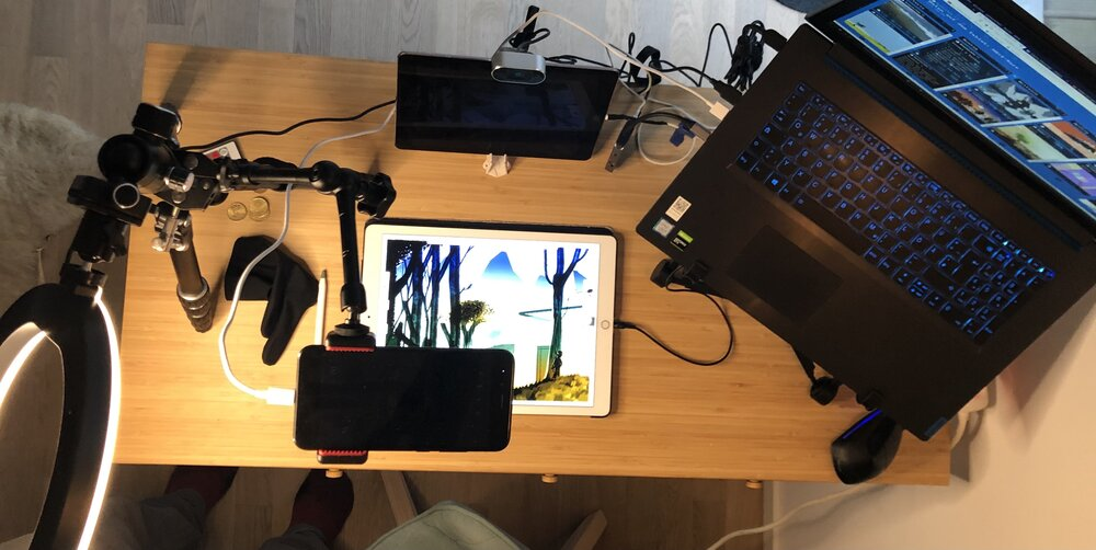 remote streaming setup