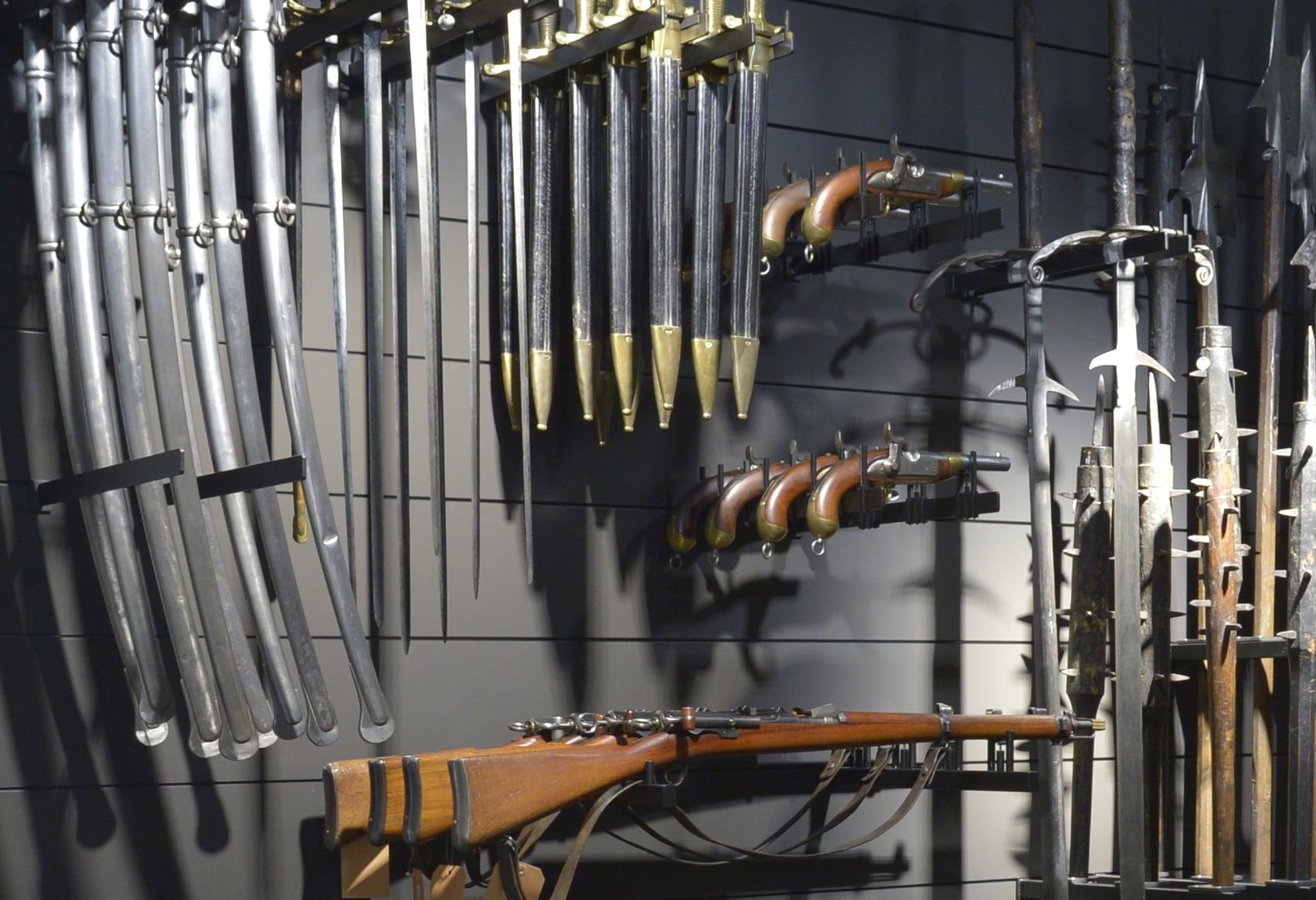 Bemusterung Schaudepot mit Brüstungsmodell