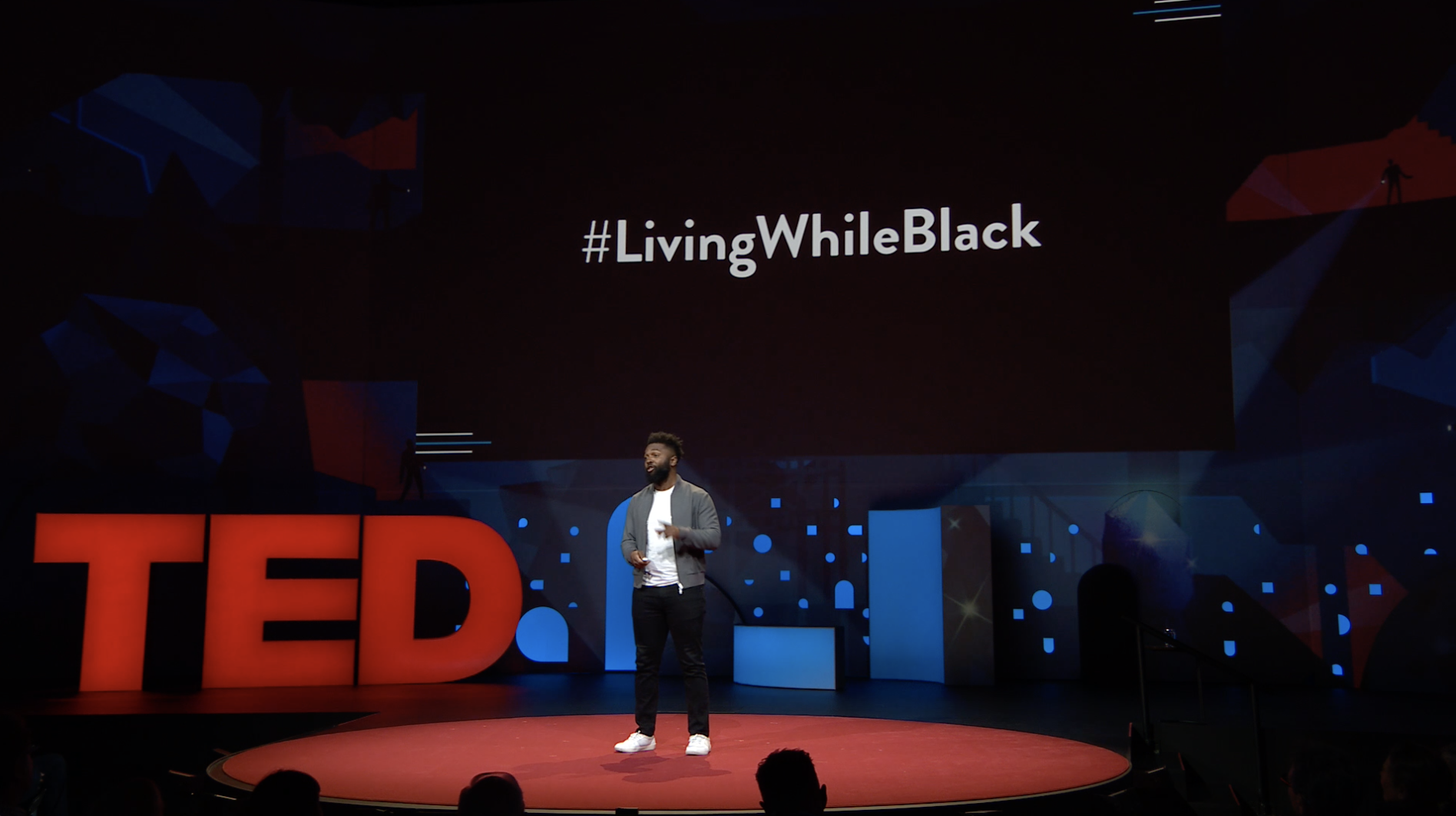 Baratunde Living While Black TED Stage