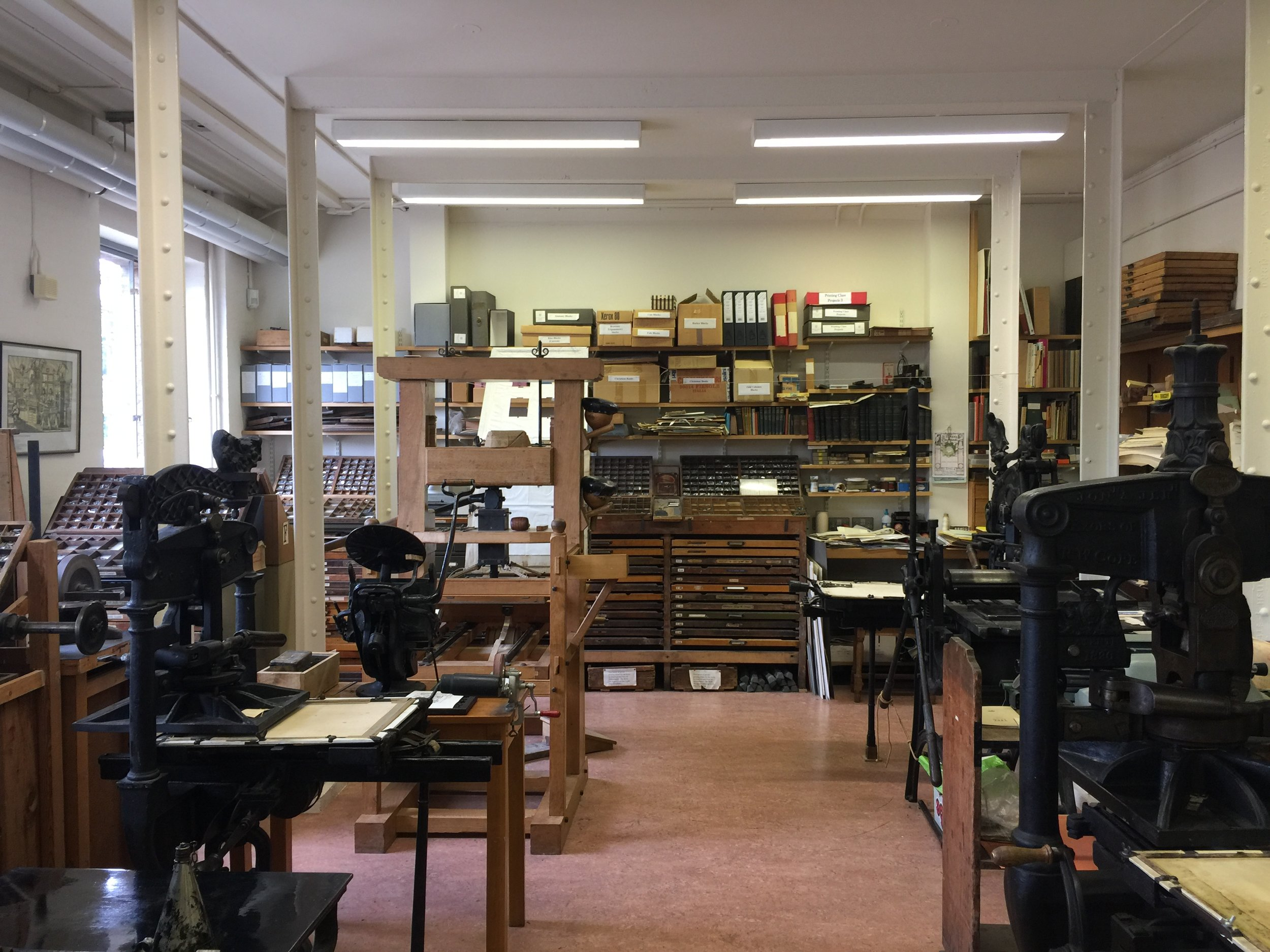 The Historical Printing Room!