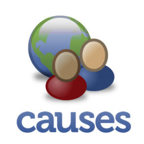 Abrazos has donated via Causes until 2013.