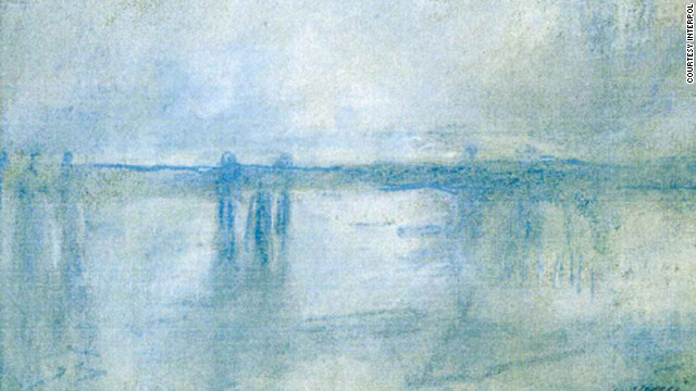 "Monet's  ""Charing Cross Bride""."
