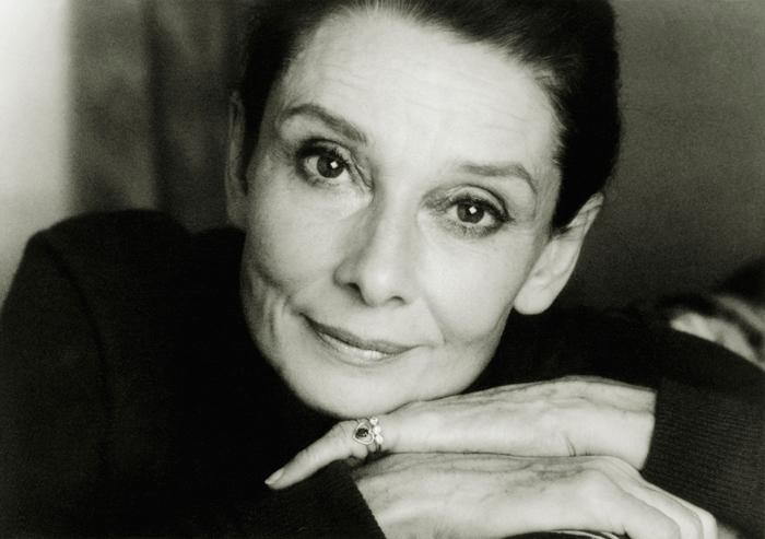 Audrey Hepburn. Credit: Philip Porcella