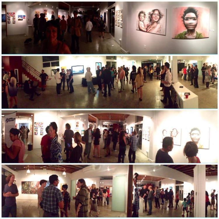 ArtCrasher Los Angeles Show. Photo Credit: Nina Parys