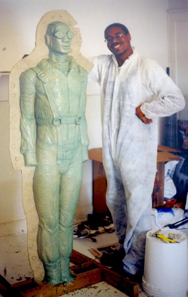 Artist Michael Richards