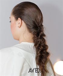 Aveda, Interlaced Fishtail Braids
