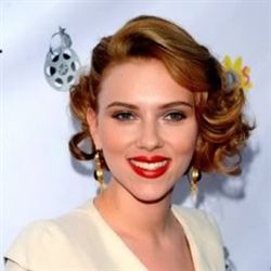 Scarlett Johansson retro, step by step